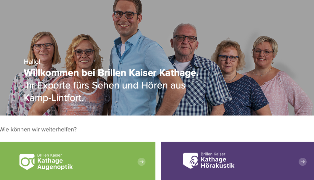 Brillen Kaiser Kathage